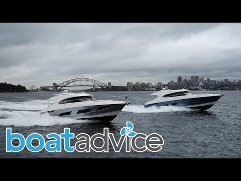 Riviera 4800 and 5400 Sports Yachts
