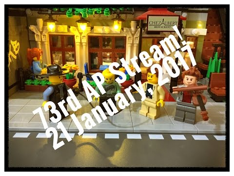 73rd AP STREAM! Purchasing LEGO. 21 January 2017
