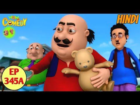 Motu Patlu 2019 | Cartoon in Hindi| Motu Ka Teddy Bear  |3D Animated Cartoon for Kids thumbnail