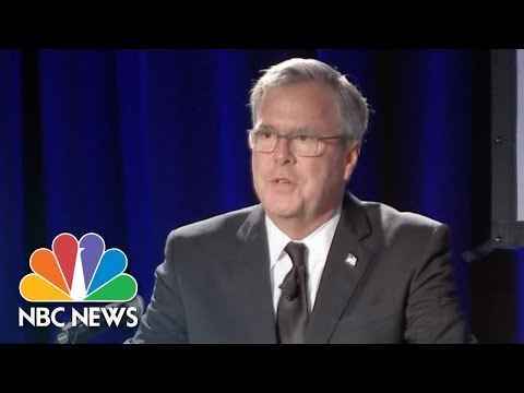 Jeb Bush On Mother Barbara's Passing: 'I'm So Blessed To Be Her Son' | NBC News