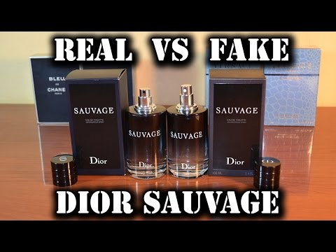 e8c30571f Fake fragrance - Sauvage EdT by Christian Dior - YouTube