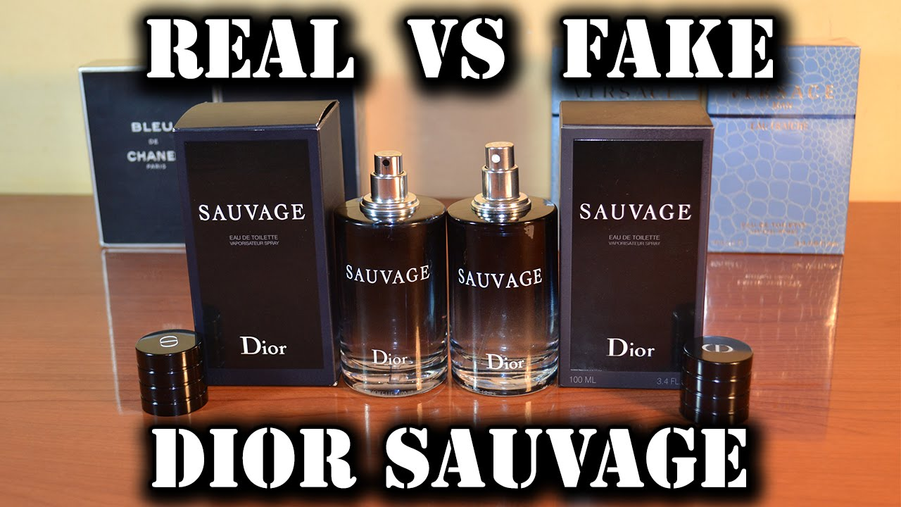 7c35d790 Fake fragrance - Sauvage EdT by Christian Dior