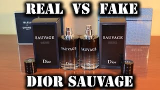 Repeat youtube video Fake fragrance - Sauvage by Christian Dior