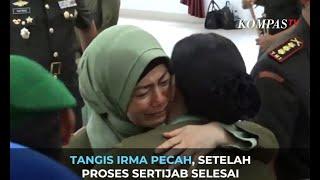 Tangis Irma Pecah, Setelah Proses Sertijab Selesai