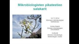 HUSLAB, Mikrobiologisten pikatestien salakarit