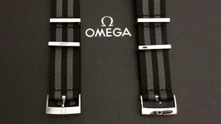 NATO Strap Comparison for the Omega Seamaster 300 SPECTRE Limited Edition James Bond 007 Watch
