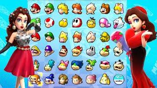 All Pauline Characters in Mario Kart