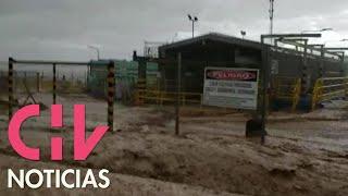Así resisten en Calama los efectos de las fuertes lluvias del norte