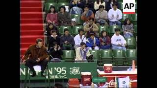 JAPAN: OPEN TENNIS TOURNAMENT: ANDRE AGASSI