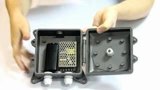 монтажная коробка для камер видеонаблюдения ebrigada.ru(ebrigada.ru DiGiVi DG Box - Монтажная коробка для установки на стену во внешнем исполнении IP66 с креплением камеры непос..., 2012-03-21T07:23:34.000Z)