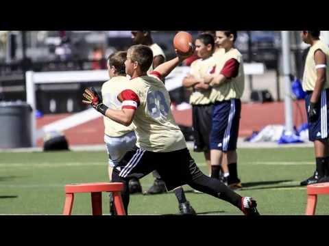 On The Field: FBU Football University Football Camp   A Ryan Hicks QB1 Video