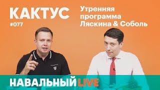 Кактус #077. Гость — депутат города Ступино Николай Кузнецов