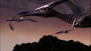 Jurassic Park saga (1997, 2001, 2015): Pteranodon Screen-Time