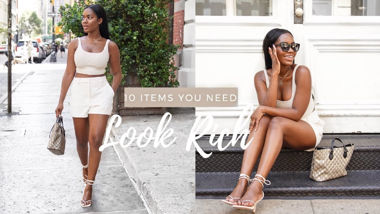 HOW TO LOOK EXPENSIVE THIS SUMMER   10 Items you need in your wardrobe