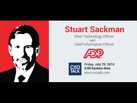 #184: HCM and Digital Transformation, with Stuart Sackman, CTO and CIO, ADP