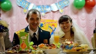 Свадьба в деревне.  Сибирь,  ЗИМА-2016