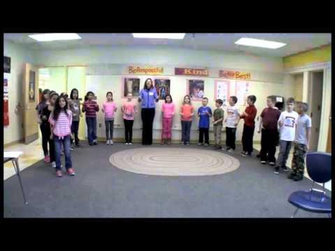 Math & Movement in 3rd Grade   Part 3