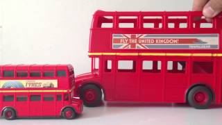 CARS Double Decker Bus CARS 2 Topper Decking باص برق بنزين العاب