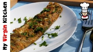 Indian Omelette Recipe MYVIRGINKITCHEN featuring Sweet Cumin Cookery School