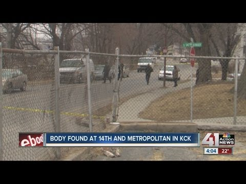 Body found at 15th and Metropolitan in KCK