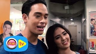 """Video Push TV: Diego Loyzaga, Sofia Andres reveal that they were almost cut from """"Bloody Crayons"""" download MP3, 3GP, MP4, WEBM, AVI, FLV Juli 2017"""