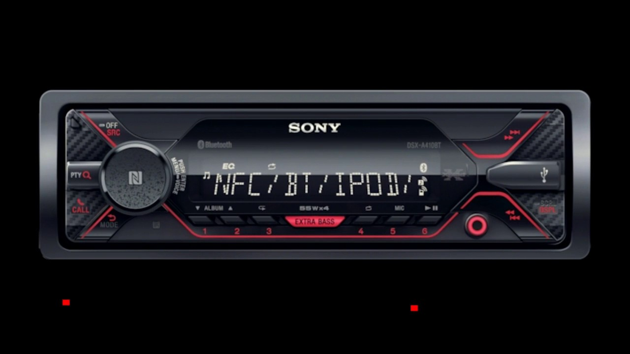 sony dsx a410bt unboxing review install audi a3 8l youtube. Black Bedroom Furniture Sets. Home Design Ideas