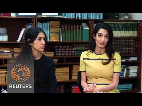 Amal Clooney to Iraq: Allow U.N. probe of Islamic State Yazidi crimes
