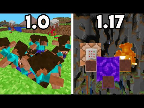 Minecraft's History of Removed Features