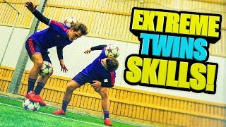 Football & Freestyle AMAZING Skills ★ SkillTwins (Ronaldo/Neymar/Messi Skills)