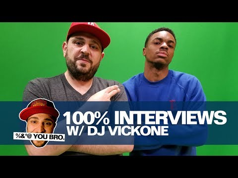 100% INTERVIEWS W/ DJ VICK ONE AND VINCE STAPLES!!!!!