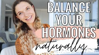 SHOULD I EXERCISE ON MY PERIOD? | How to balance your hormones naturally for women