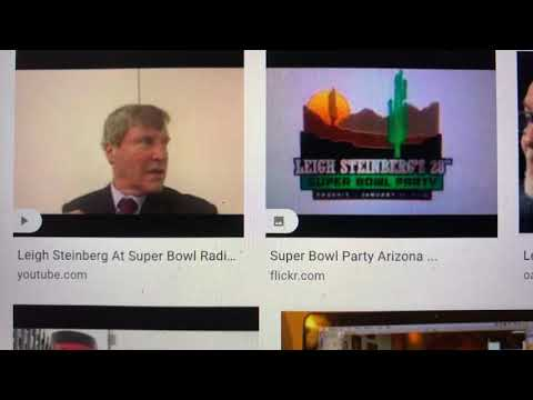 Leigh Steinberg On Zennie62 YouTube To Talk New NFL Media Deal, Pandemic, Today 3 PM PST