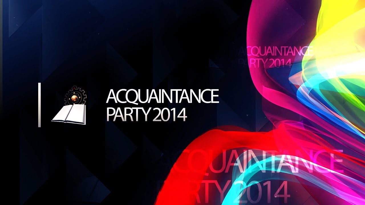 acquaintance party experience Acquaintance definition, a person known to one, but usually not a close friend see more personal knowledge as a result of study, experience, etc.