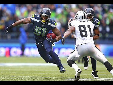 Bruce Irvin Signs With Oakland Raiders Joins Khalil Mack