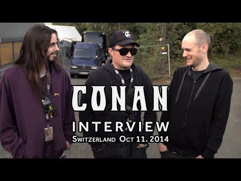 CONAN Interview @ Up in Smoke Festival 2014