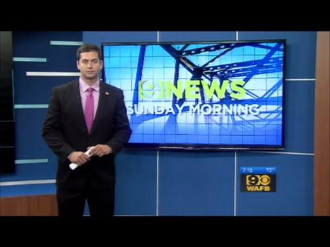 9News Sunday Morning (WAFB, Baton Rouge, LA 9-27-2015)