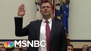 FBI Agent Peter Strzok Fired Over Anti-Trump Texts | Velshi & Ruhle | MSNBC