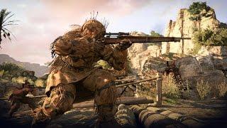Самая Красивая Игра про Снайпера на ПК ! Sniper Elite 3