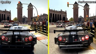 GRID Autosport Nintendo Switch Quality vs Performance Mode Graphics Comparison