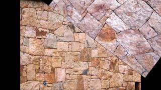 Разновидность сухой кладки. Желтый камень/Dry stone masonry. Yellow stone(, 2015-01-25T14:23:28.000Z)