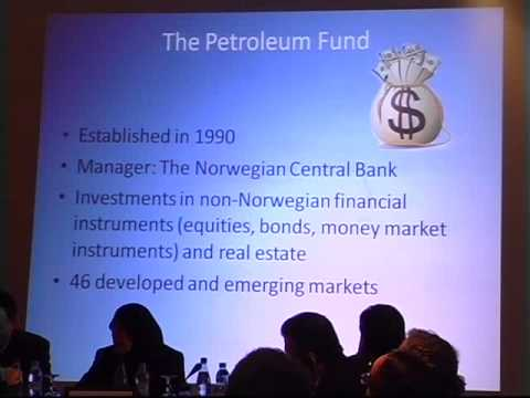 Speaker: Einar Steensnaes, Former Minister of Petroleum and Energy of Norway