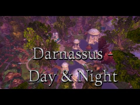 Relaxing Ambience/Music - Darnassus - World of Warcraft