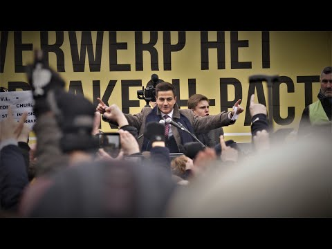 March Against The Pact Of Marrakesh - In Belgium Brussels