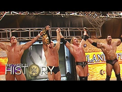 Alle Evolution-Mitglieder Gleichzeitig Champions: This Week In WWE History – 18. Dezember 2015