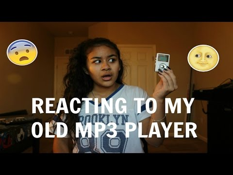 REACTING TO MY OLD MP3 PLAYER
