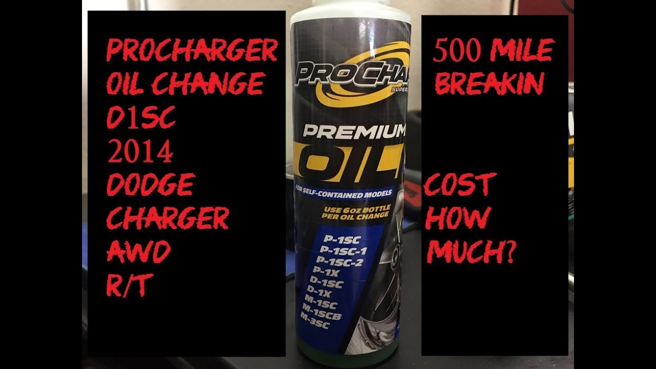 How To Change The Oil In Your ProCharger - Added Car Expense To Be  Considered