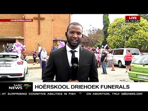 Hoërskool Driehoek slab collapse victim Marli Currie to be laid to rest