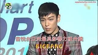 第5屆gaon chart k pop awards bigbang exo齊奪5獎 aoa出道3年拎新人獎