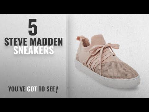 Top 5 Steve Madden Sneakers [2018]: Steve Madden Women's Lancer Fashion Sneaker, Blush, 7 M US