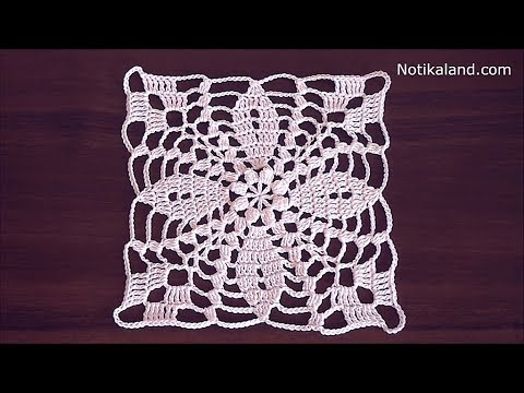 Crochet Flower Motif Tutorial Crochet Lace Motif Patterns Free Youtube